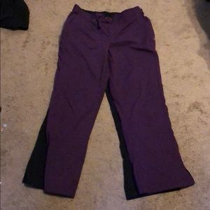 Scrub pants by Purple Label by Healing Hands